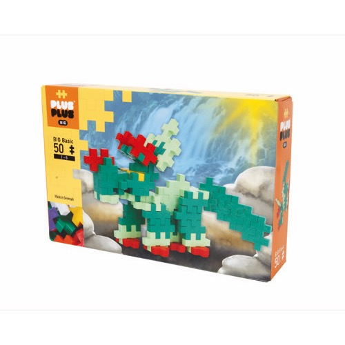 BOX BIG BASIC DINO 50 PCS