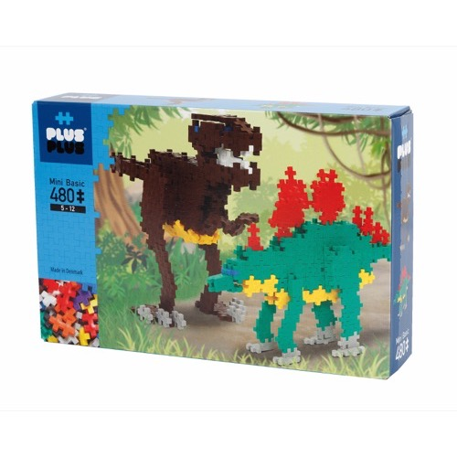 BOX BASIC DINOSAURES 480