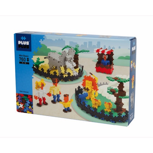 BOX BASIC ZOO 760PCS