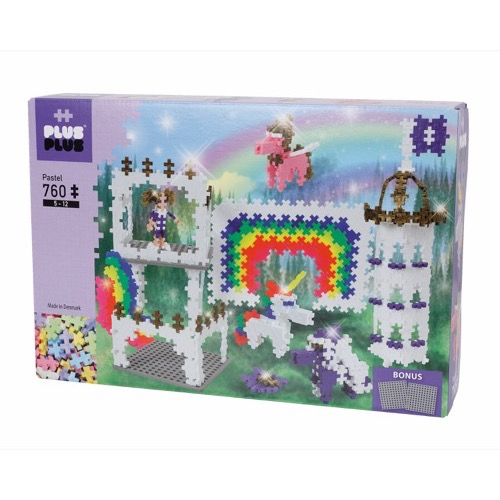 BOX PASTEL LICORNE 760 PCS