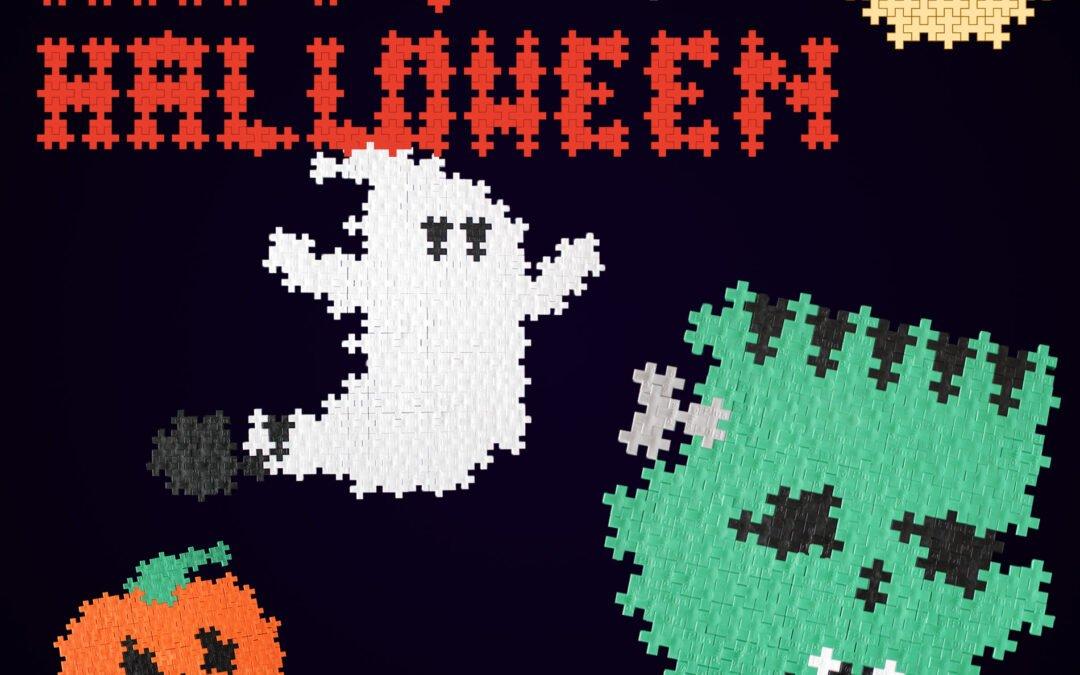 Promotions spécial Halloween, jeu de construction Plus-Plus